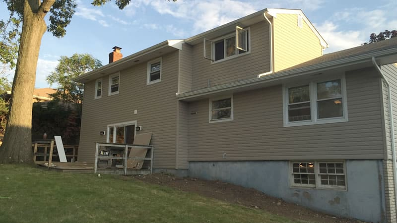 After-What a difference new vinyl siding makes
