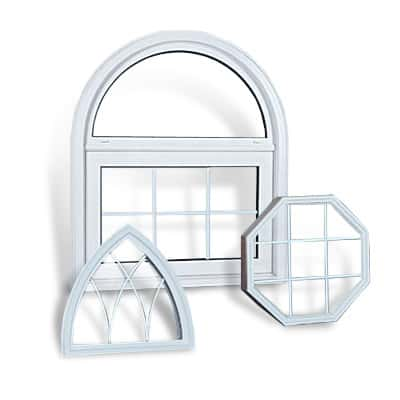 Specialty shape windows can help you realize your unique design ideas.