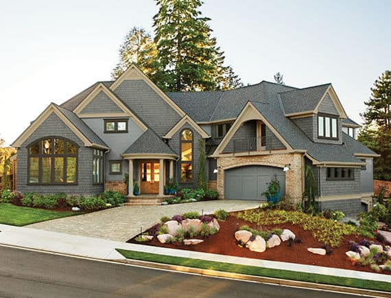 Specialty Shape replacement windows allow you to make a dramatic architectural statement.