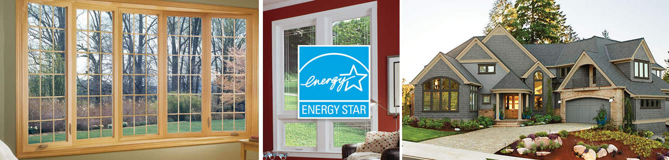 All of our windows are Energy Star rated, so you'll save money on your heating and cooling, as may be eligible for tax and other rebates.