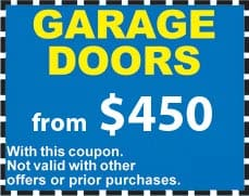 Use this coupon to save plenty of money on your new garage door from Deluxe Windows & Doors